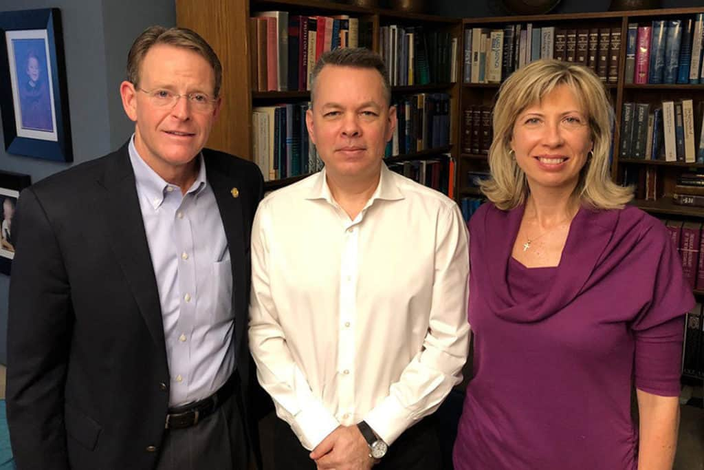 Pastor Andrew Brunson freed